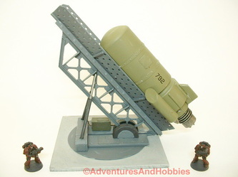 Large rocket launcher with super heavy guided missile - UniversalTerrain.com